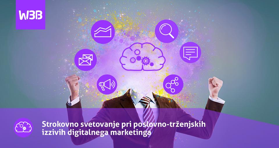 W3Brain - Strokovno svetovanje pri poslovno-trženjskih izzivih digitalnega marketinga
