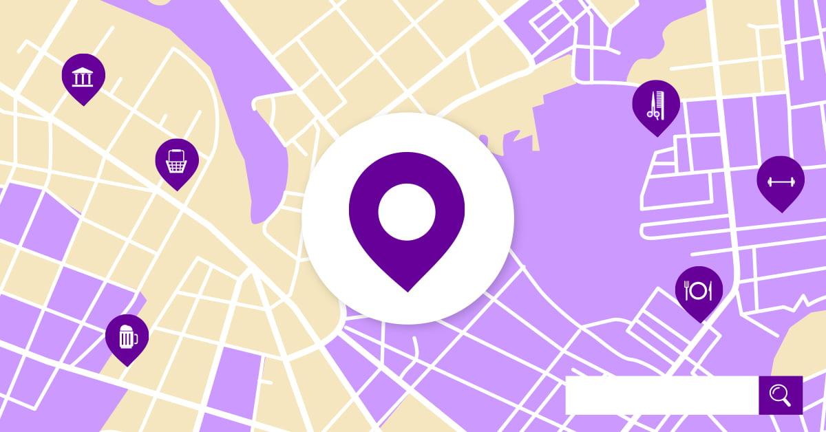 Iskalniki in lokacija
