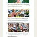 Visit Ljubljana native ads landing pages